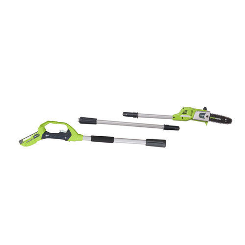 Greenworks 20352 24V Cordless Lithium-Ion Enhanced 8 in. Pole Saw Kit by GREENWORKS