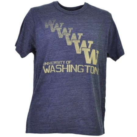 NCAA Washington Huskies Repeat Logo Purple Mens Tshirt Tee Short Sleeve XLarge](Ncaa Logo)