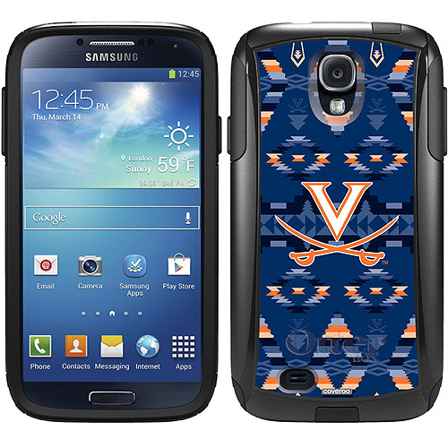 University of Virginia Tribal Design on OtterBox Commuter Series Case for Samsung Galaxy S4