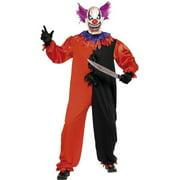Sinister Bobo The Clown Scary Costume Adult Medium
