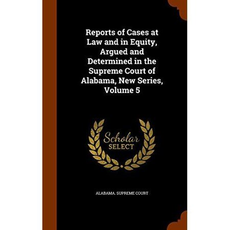 Reports of Cases at Law and in Equity, Argued and Determined in the Supreme Court of Alabama, New Series, Volume 5 - image 1 de 1