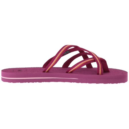 1efa3a3f477e Teva Girls Olowahu Slip On Thong Flip - image 1 of 2 ...