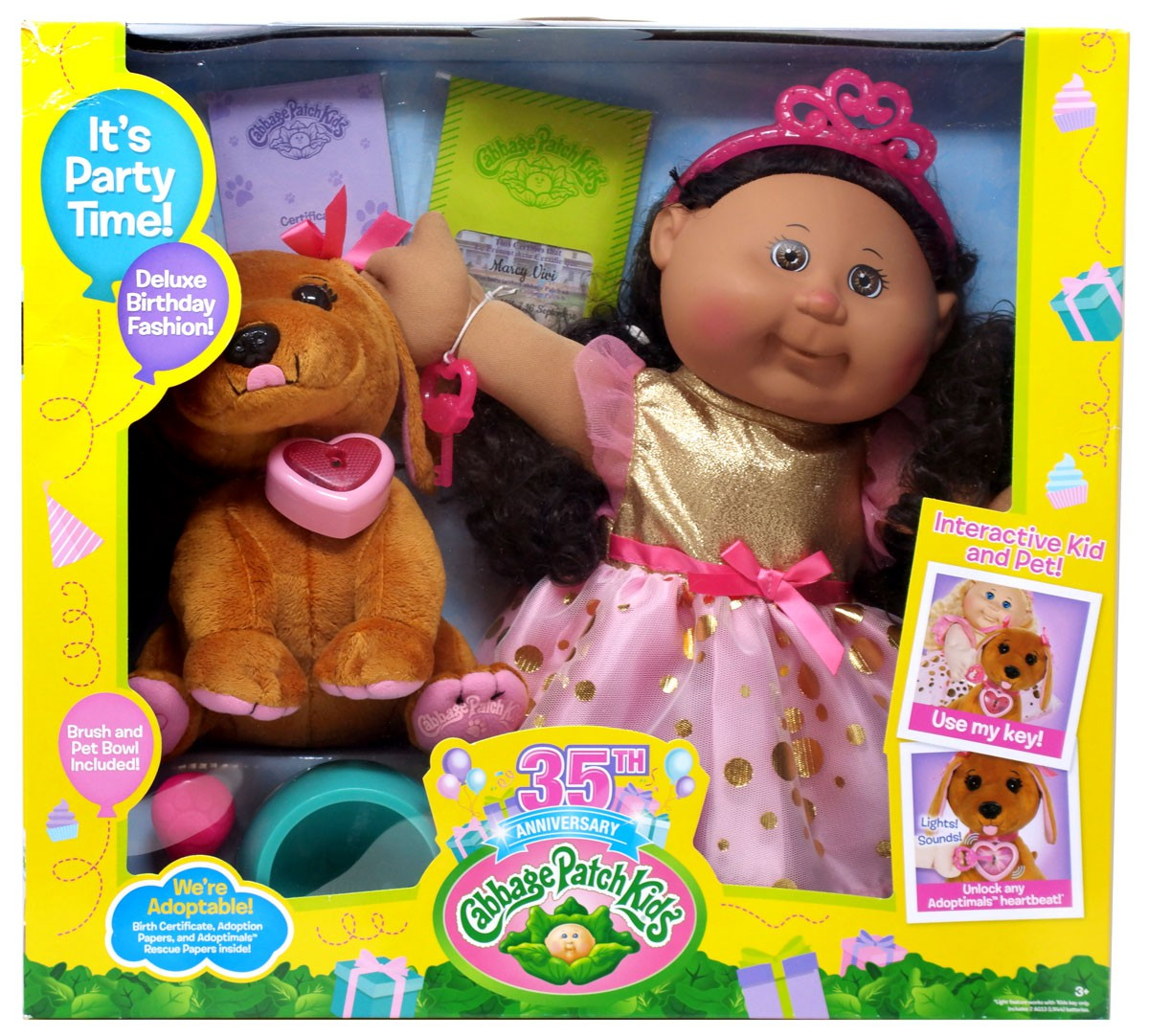 Cabbage Patch Kids Adoptimals Marcy Vivi Doll by