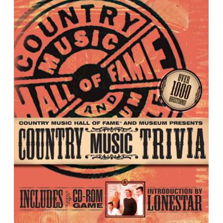 Country Music Trivia and Fact Book - - Halloween Music Trivia