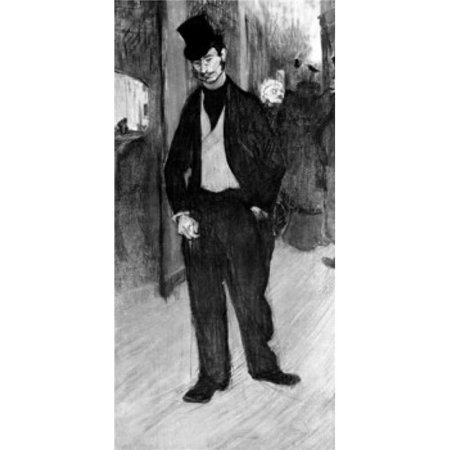 Superstock SAL99587110 In The Foyer of The Theater by Henri De Toulouse-Lautrec 1864-1901 Poster Print, 18 x 24 - image 1 de 1