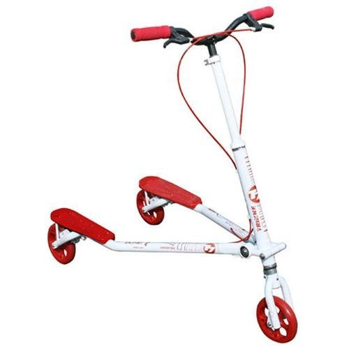 TrikkeTech T7K-WTRD T7 Convertible White/Red