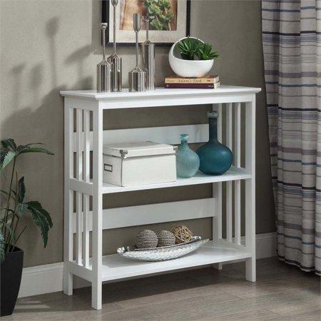 Scranton & Co 2 Shelf Bookcase in White - image 3 of 3