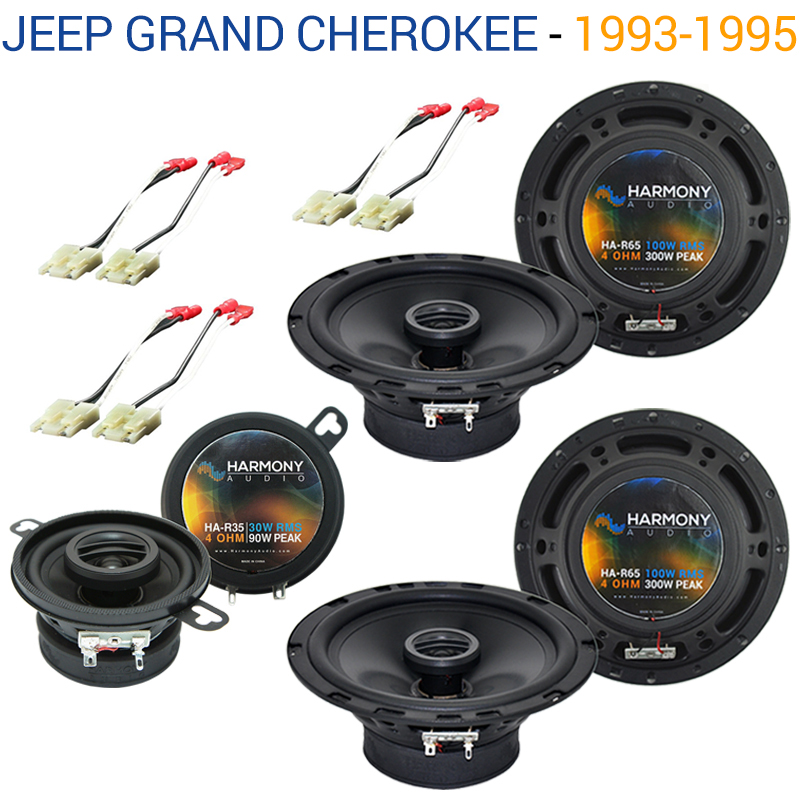 Jeep Grand Cherokee 1993-1995 OEM Speaker Replacement Harmony Upgrade Package by Harmony Audio