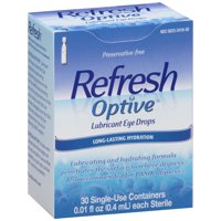Refresh optive lubricant eye drops 30-0.01 fl. oz.