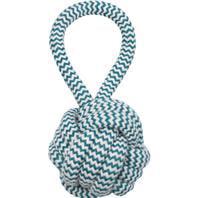 Mammoth Flossy Chews Monkey Fist Rope Ball Dog Toy, Medium, 3.75