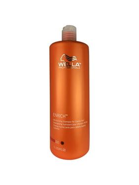 Enriched Moisturizing Shampoo, For Coarse Hair By Wella, 33.8 Oz