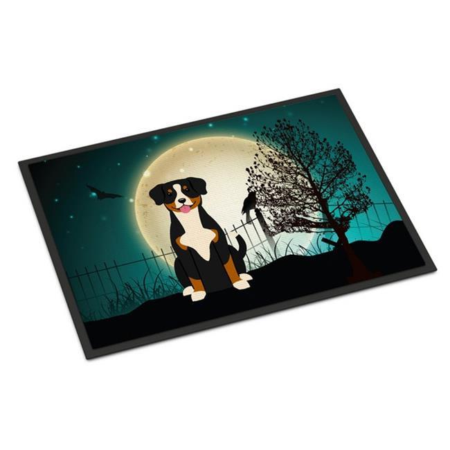 Carolines Treasures BB2228JMAT Halloween Scary Entlebucher Indoor or Outdoor Mat, 24 x 0.25 x 36 in. - image 1 de 1