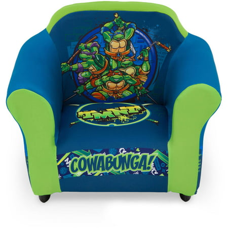 Teenage Mutant Ninja Turtles Kids Upholstered Chair With Sculpted