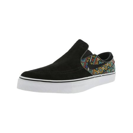 cccfac62db725 Nike Men's Zoom Stefan Janoski Slip Elite Black / - White Ankle-High  Skateboarding Shoe ...
