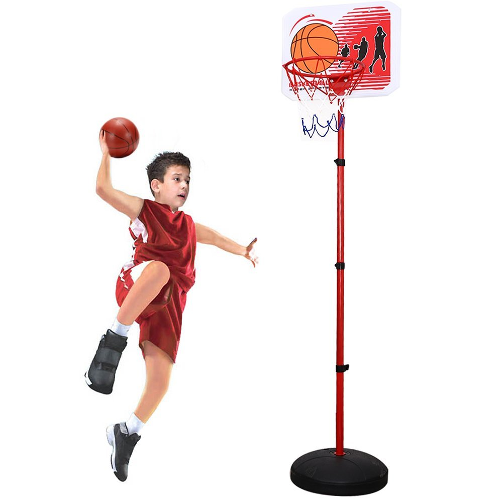 Children Portable Basketball Hoop Stand Backboard Sports Toys ( 83 Inch)
