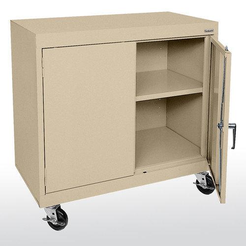 Sandusky Cabinets Transport 36'' Wide Single Shelf Work Height Storage Cabinet