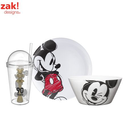 Disney Mickey Mouse Plate Bowl Amp Tumbler 3 Piece Set