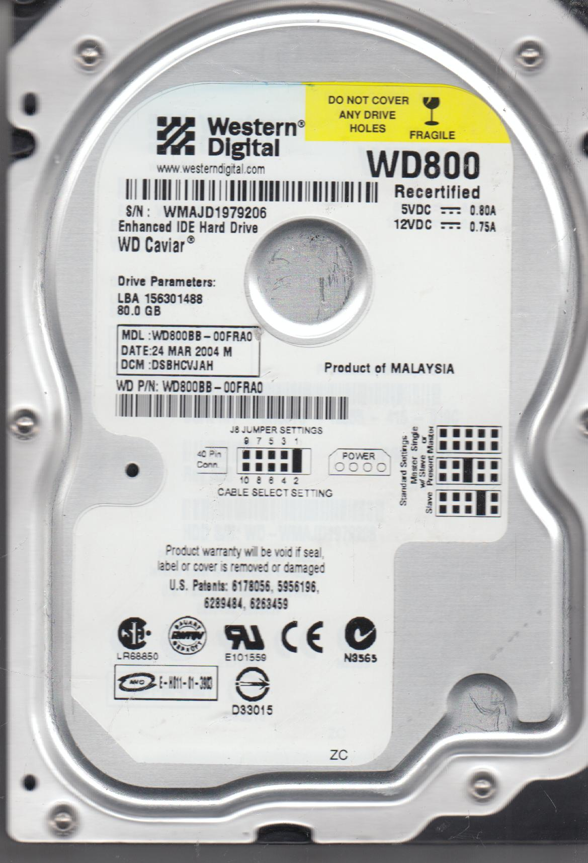 WDC WD800BB WINDOWS 7 DRIVERS DOWNLOAD