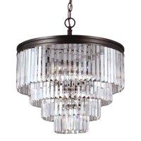 Sea Gull Lighting Carondelet 3114006 6-Light Chandelier