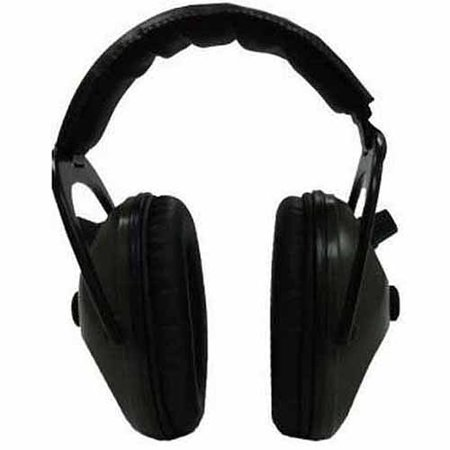Pro Ears Electronic Hearing Protection Pro Tac Plus Gold, Black, Lithium 123 Battery