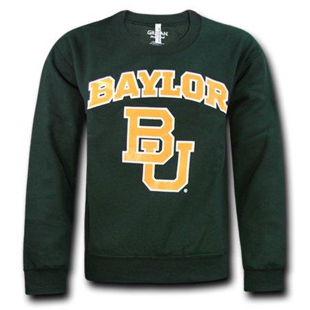 Baylor University Bears College Crewneck Sweater Sweatshirt PulloverGreen Large