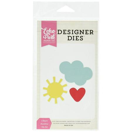 EPP Die 411 I Heart Sunshine Craft Supply, I heart sunshine By Echo Park Paper - Sun Paper Company