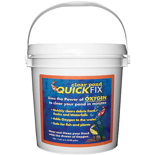 Clear Pond 30123 10 Lb Quick Fix Pond Cleaner by Clear Pond