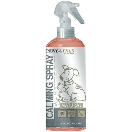 Paws & Pals Inc. Paws & Pals Pet Natural Calming Spray for Dogs/Cats ()