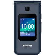 Cricket Wireless Cricket Debut Flip, 4GB, Navy Blue - Prepaid SmartFlip Phone