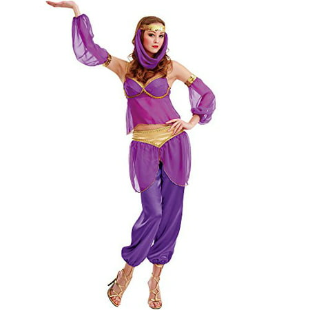 Boo! Inc. Genie Women's Halloween Costume Dress Gown](Adult Genie)