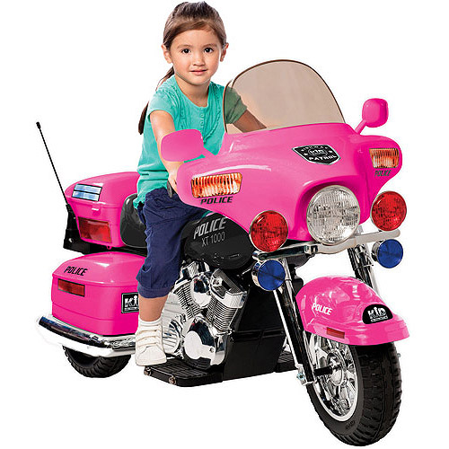 Kid Motorz Motorcycle 12-Volt Battery-Powered Ride-on, Pink