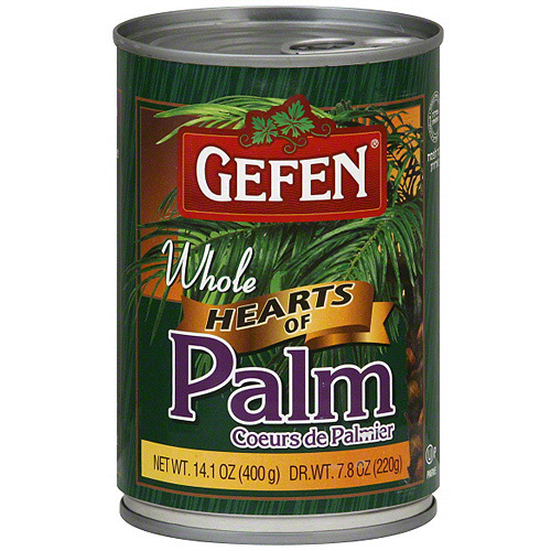 Gefen Whole Hearts Of Palm, 14.1 oz (Pack of 24)