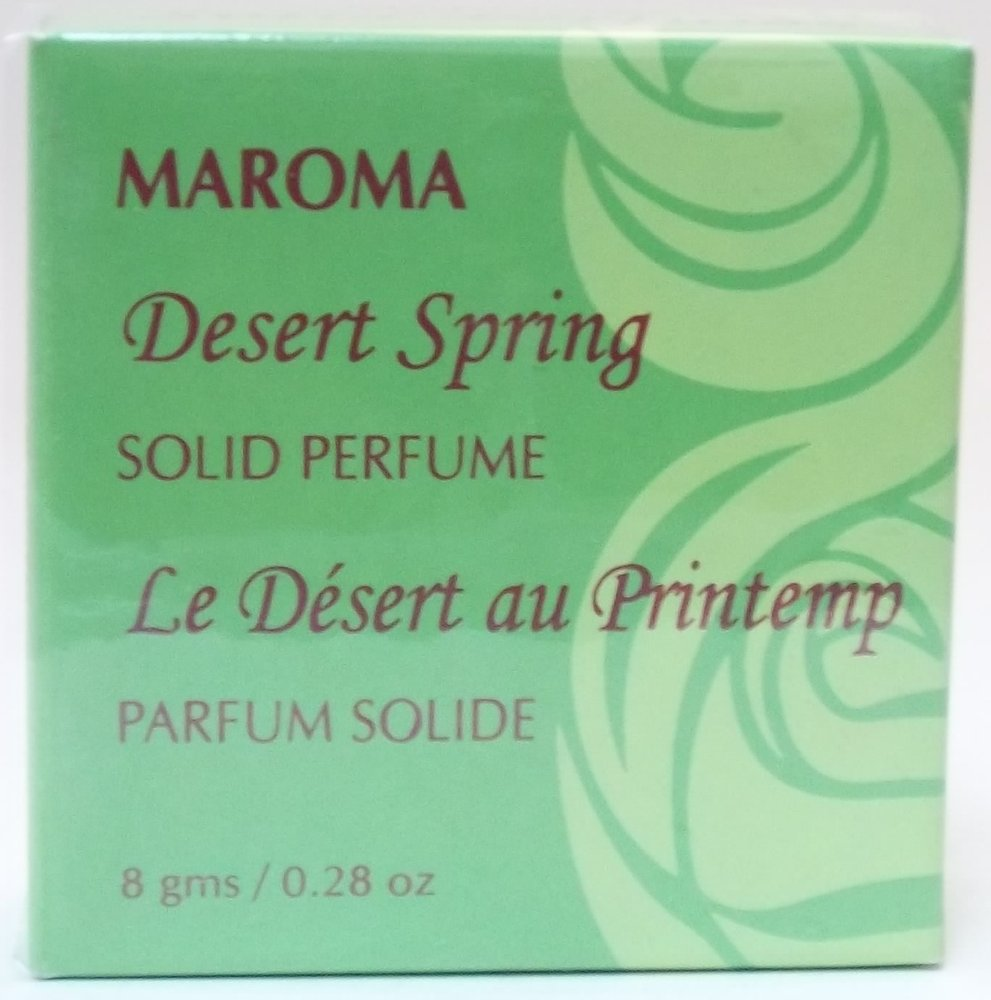 Solid Perfume - Desert Spring Maroma 0.28 oz Solid