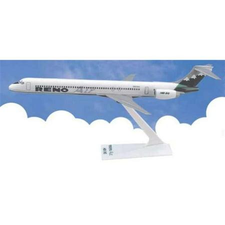 Daron LP50153 Flight Miniatures Reno Air MD-90 Model Airplane Flight Model Rocket
