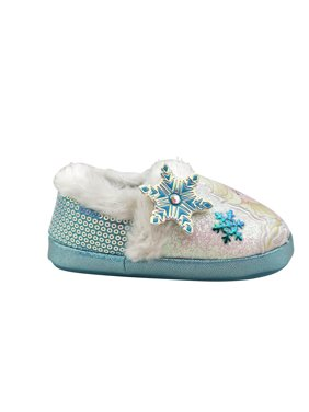 Disney Frozen 2 Elsa and Anna Character Slipper (Toddler Girls)