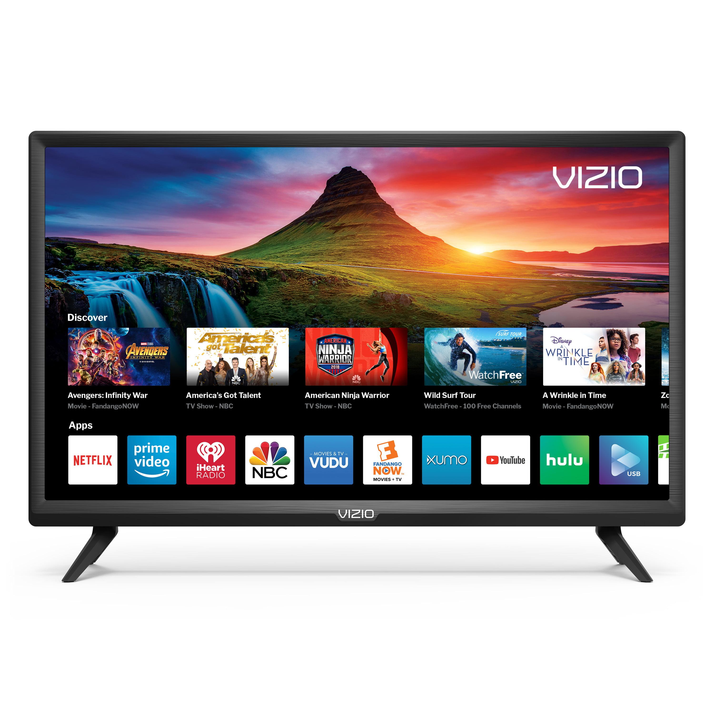 "VIZIO 24"" Class HD (720P) Smart LED TV (D24h-G9) - Walmart com"