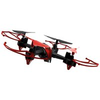 Alta Remote Control Camera Drone Scarab 360 Degree Turns RC Flip and Roll - Black/Red