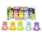 NEW 2021 - Care Bears Bean Plush - Special Collector Set - Exclusive Do-Your-Best Bear Included!