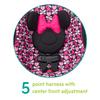 Disney Baby Apt 50 Convertible Car Seat, Minnie Sweetheart