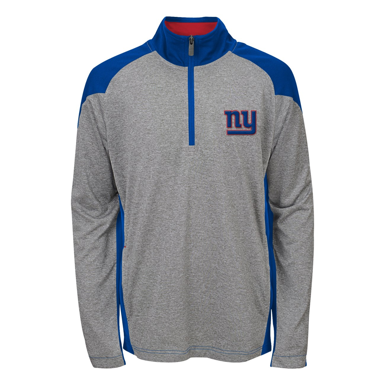 "New York Giants Youth NFL ""DNA"" Lightweight 1/4 Zip Pullover Sweatshirt"