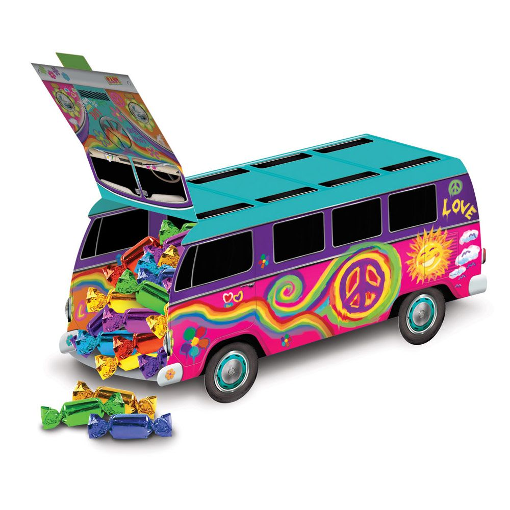 Groovy 60's Van Centerpiece Decoration (Each) - Party Supplies