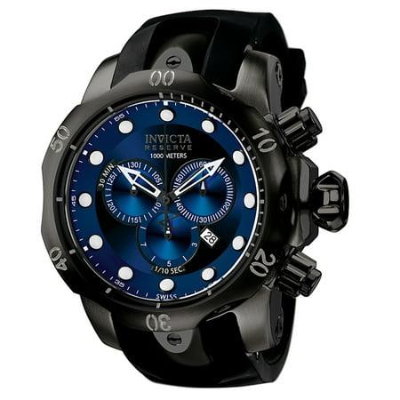 Invicta F0003 Men's Venom Reserve Chronograph Black Polyurethane Watch