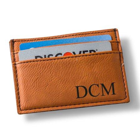 Personalized Men's Money Clip Wallet - Personalized Money Clip Wallet
