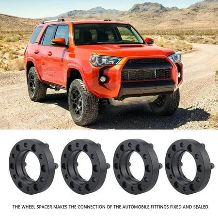 HURRISE Wheel Spacers,Car 4Pcs 32mm Hub Centric Aluminum Wheel Spacers for Toyota 4-Runner FJ Cruiser Tundra ,Wheel Spacer Custom Wheels Toyota Tundra