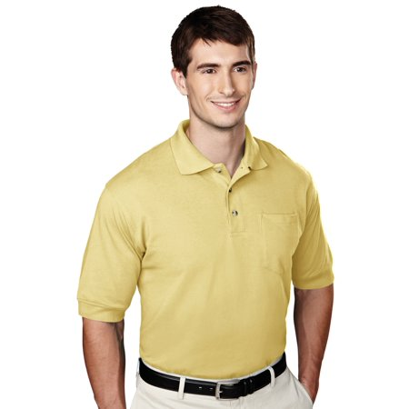 Tri Mountain Mens Short Sleeve Knit Golf Shirt