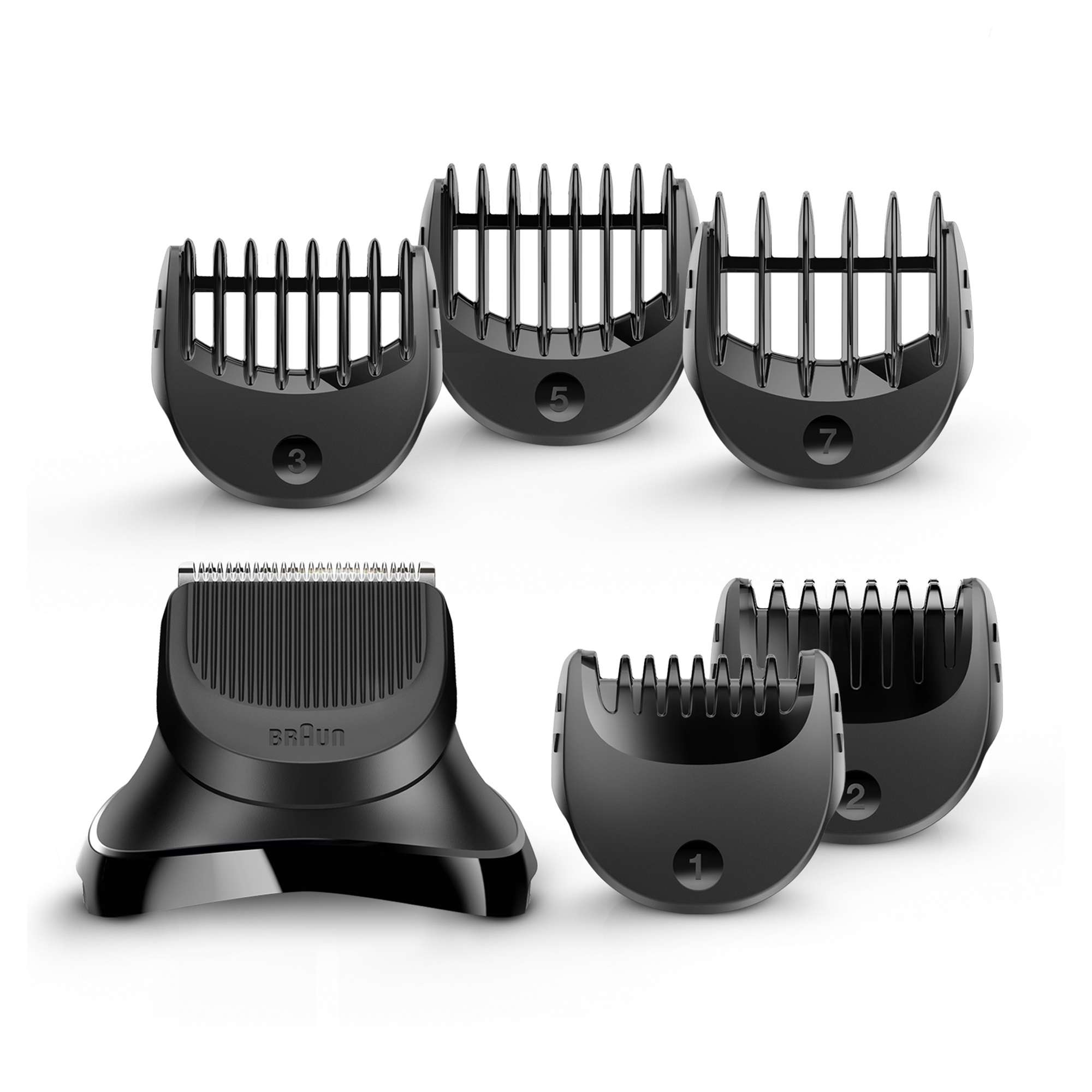 Braun Beard Trimmer Head +5combs BT32 - Compatible with Series 3 Shavers