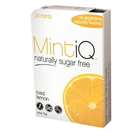 Iced Lemon Mints by MintiQ (24pcs Mints)