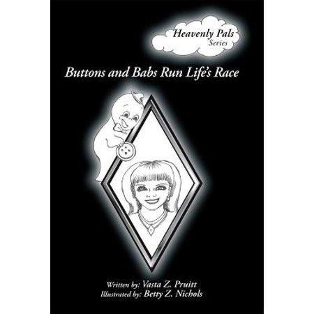 Buttons and Babs Run Life's Race - eBook (Rare Button)