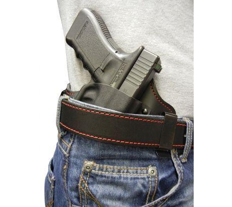 Flashbang 9410G4210 Capone RH Glock 42 RH, Leather Thermoplastic, Black by FLASHBANG HOLSTERS/LOOPER