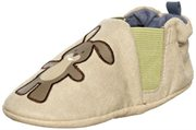 Robeez Infant Boys Tortoise & Hare- Blue Tan. 0-6 Months by